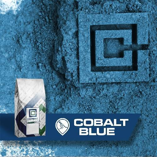 Cobalt Blue - Raw Pigment Cement Colors