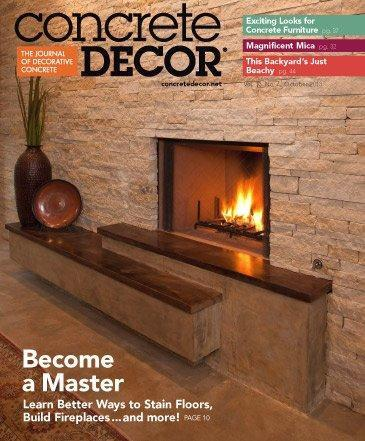 Vol. 13 Issue 7 - October 2013 Back Issues Concrete Decor Store