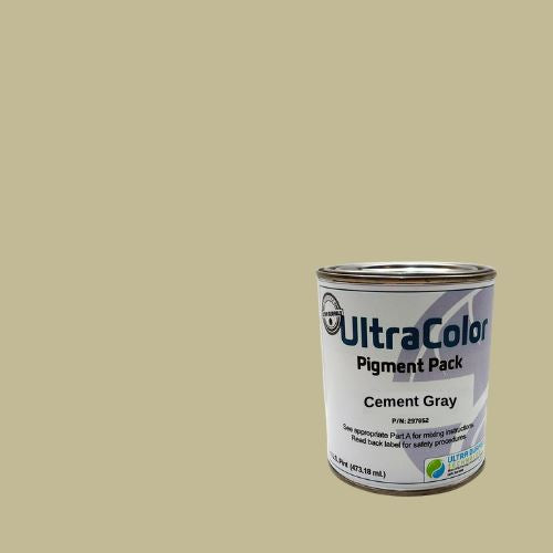 UltraColor Pigment Packs Ultra Durable Technologies Cement Gray