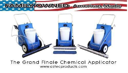 Aztec Grand Finale – High Productivity Chemical Applicator - Aztec Products - Concrete Decor Marketplace