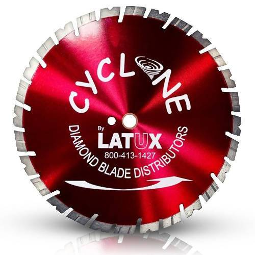 "12 – 16"" CYCLONE BLADE Latux Diamond Blade Distributor"