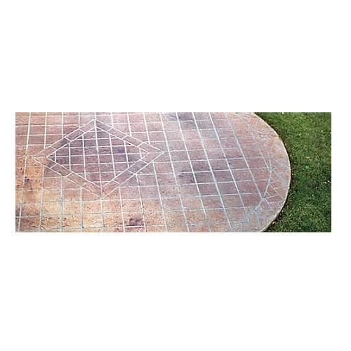 Diamond - Concrete Stencil Decorative Concrete Impressions
