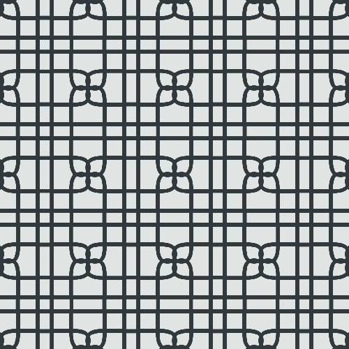 Knit Tile Pattern - Adhesive-Backed Stencil supplies FloorMaps Inc. Positive