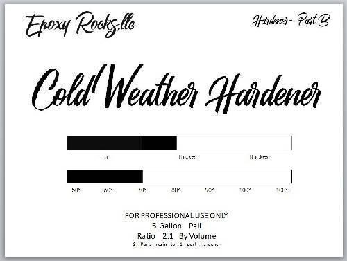 Cold Weather Hardener - Formula (Part B)