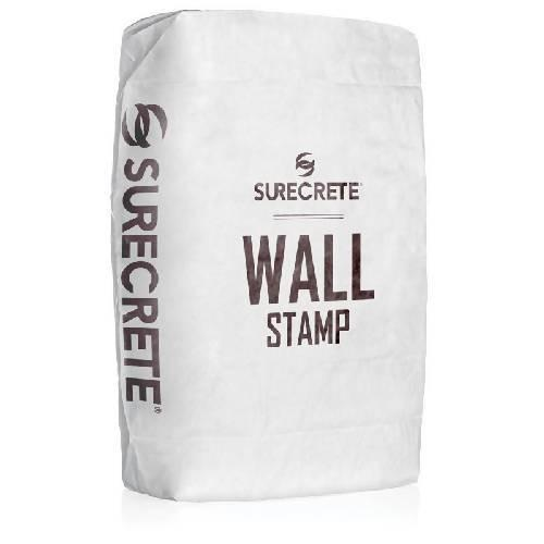 Wall Stamp Concrete Overlay Light Gray 40 Lb