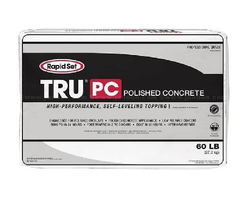 Rapid Set TRU PC - Self-Leveling (Gray or Natural) Cement Colors