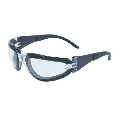 Pro-Rider Safety Glasses with EVA Foam (Pack of 6) Global Vision Eyewear Corp. Clear with Anti-Fog Coating