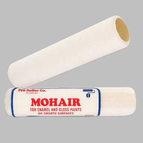 Mohair Roller Cover - Contractor Pack 12 Count Pro Roller Co. 9""