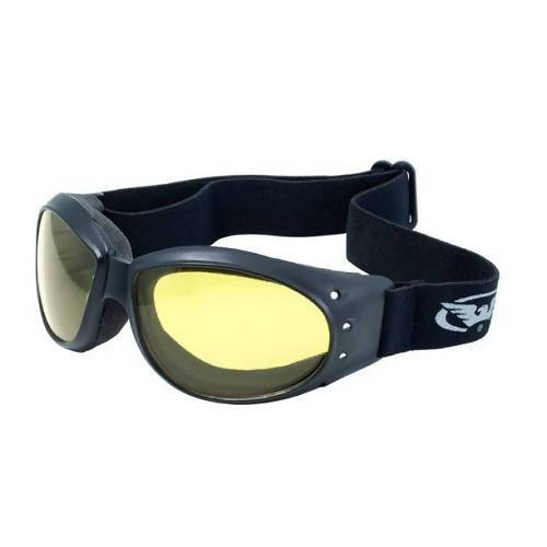 Eliminator - Safety Goggles with Pouch (Pack of 6) Global Vision Eyewear Corp. Yellow Tint