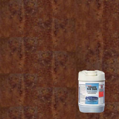 Bon True Etch - Acid Stain - 5 Gallons Supplies Bon Tool Spanish Brown