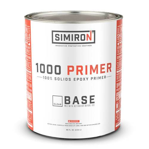 1000HS Epoxy Primer - 1 Gallon Kit (Clear) Simiron