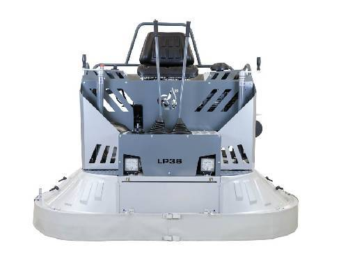 "Lavina Ride-on Power Trowel Equipment Concrete Polishing HQ 999cc Kawasaki FX1000V Blue Sky engine 80"" working path"