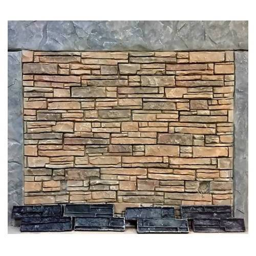 Eastern Ledgestone Concrete Wall Stamp Set Stone Edge Surfaces