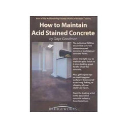 How to Maintain Acid Stained Concrete Media Concrete Decor RoadShow