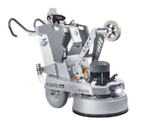"Lavina® 25 Elite Remote Controlled Three Head Planetary Grinding and Polishing Machine Equipment Concrete Polishing HQ 10HP(7,5kW) 1 or 3ph 200-240V 45Amps width 25""(66cm)"
