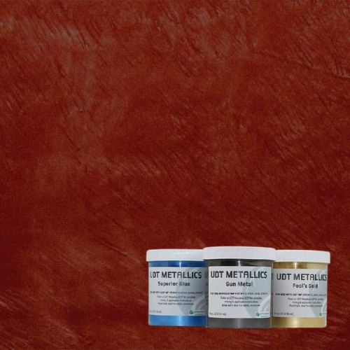 UDT Metallic Pigments – 16 oz. Ultra Durable Technologies Red Hot