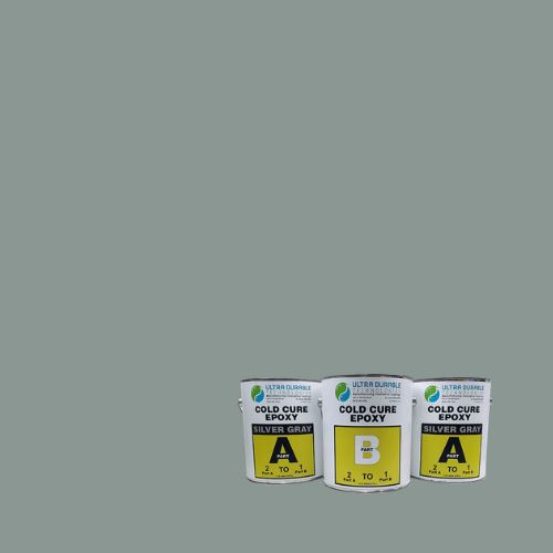 Cold Cure Epoxy Ultra Durable Technologies 3 Gallon Kit Silver Gray