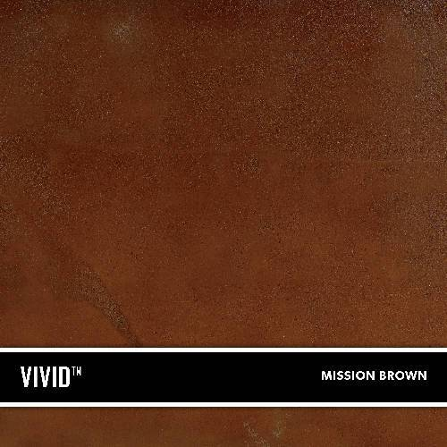 1 Gallon Concrete Acid Stain - Vivid Stain (Formerly SureStain) BDC Equipment & Rental Mission Brown 1 gallon