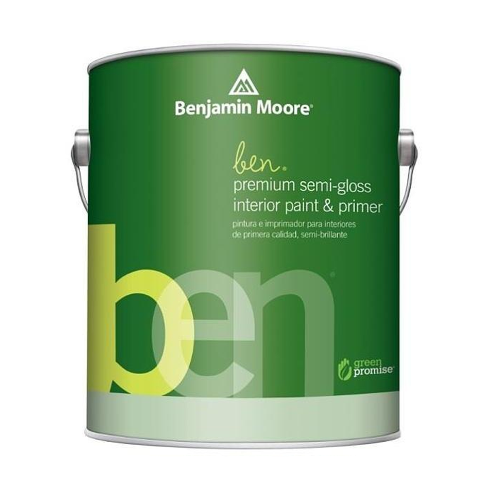 INTERIOR PREMIUM ben® Waterborne Semi-Gloss White