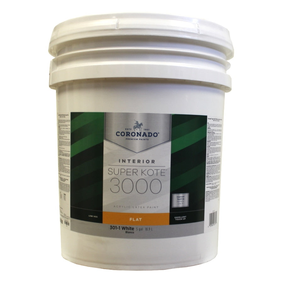 CORONADO® Interior Paint Super Kote® 3000 Flat (Blanco)