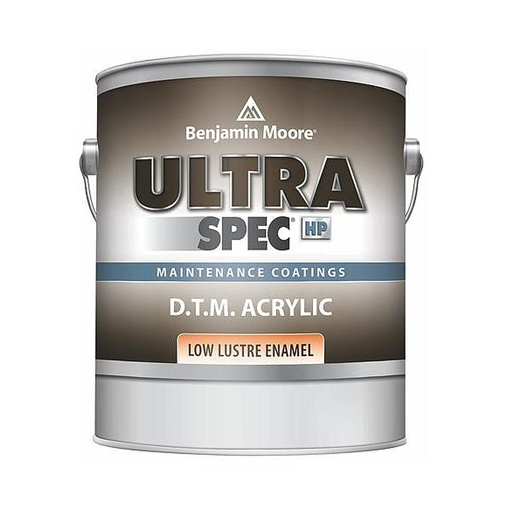 INTERIOR COMMERCIAL Ultra Spec® HP D.T.M. Acrylic Enamels Low-Lustre