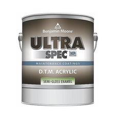 INTERIOR COMMERCIAL Ultra Spec® HP D.T.M. Acrylic Enamels Semi-Gloss