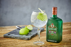 Slingsby gooseberry gin signature serve