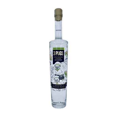 3 Pugs Apple Crumble Gin Liqueur 50cl