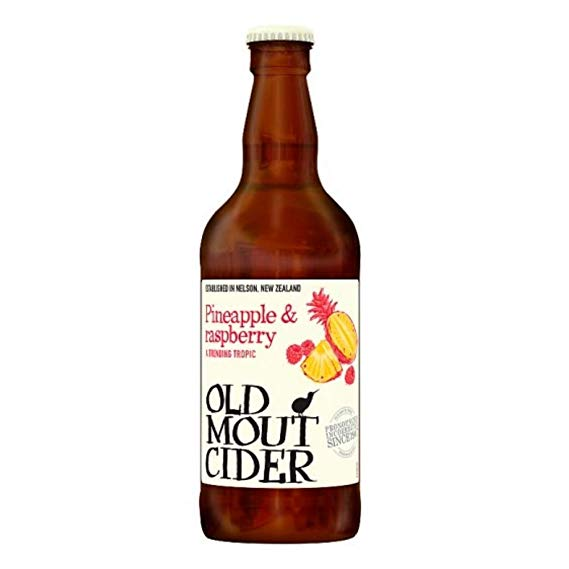 Old Mout Pineapple & Raspberry Cider 12 x 500ml