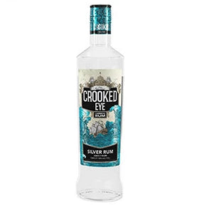 Crooked Eye Caribbean Silver Rum (3yr old) 70cl