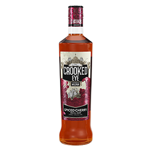 Crooked Eye Caribbean Spiced Cherry Rum (3yr old) 70cl