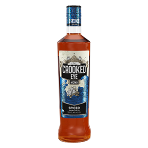 Crooked Eye Caribbean Spiced Rum (3yr old) 70cl