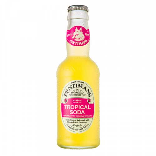 Fentimans Tropical Soda 12 x 200ml