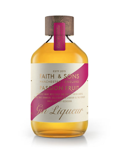 Faith & Sons Passion Fruit Gin Liqueur 50cl