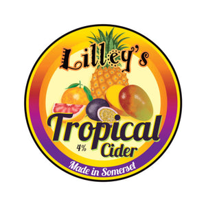 Lilley's Tropical Cider 5 litre box