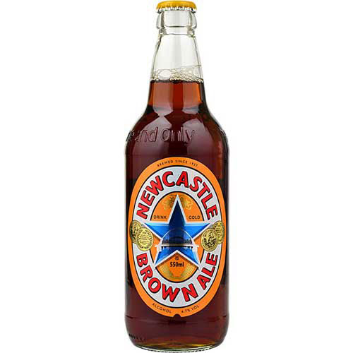 Newcastle Brown Ale 4.7% 12 x 550ml Bottles