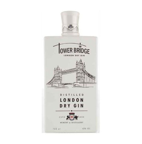 Tower Bridge London Dry Gin (White) 70cl