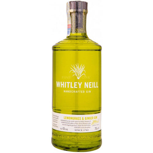 Whitley Neill Lemongrass & Ginger Gin 70cl
