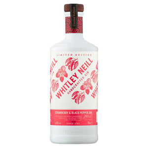 Whitley Neill Strawberry & Black Pepper Gin 70cl