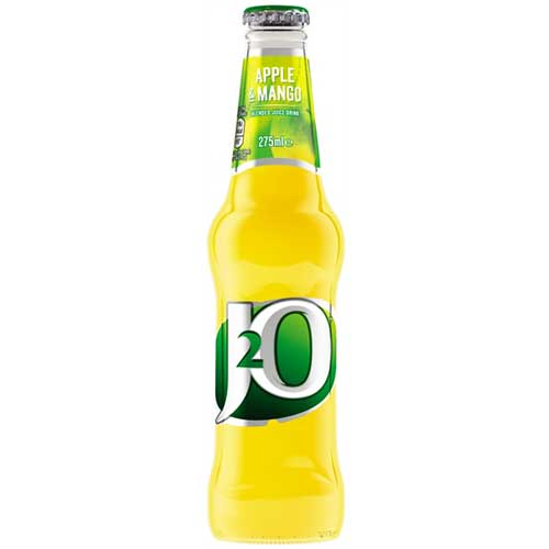 J20 Apple & Mango Juice Drink 24 x 275ml Bottles