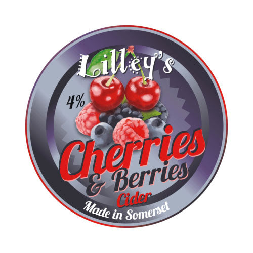 Lilley's Cherries & Berries Cider 5 litre box