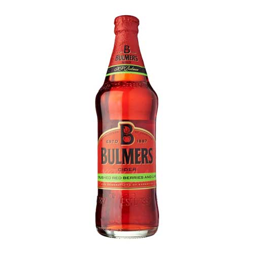 Bulmers Red Berry & Lime Cider 12 x 500ml