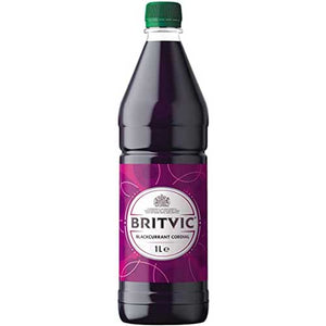 Britvic Blackcurrant Cordial 1L Bottle