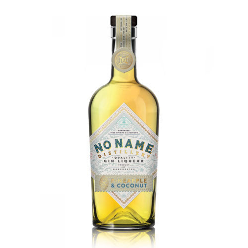 No Name Distillery Gin Liqueur - Pineapple & Coconut 50cl