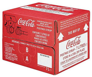Coke Bag-in-Box Postmix Syrup 7L