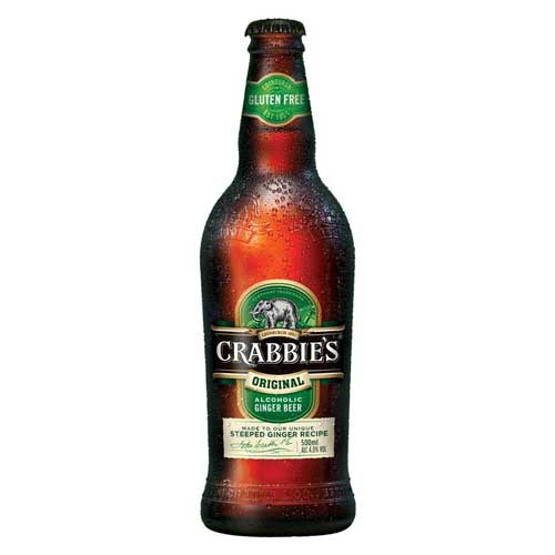 Crabbie's Alcoholic Ginger Beer 4.0% abv 12 x 500ml
