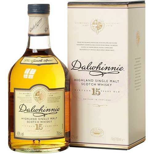 Dalwhinnie 15 Year Old Single Malt Scotch Whisky 70cl