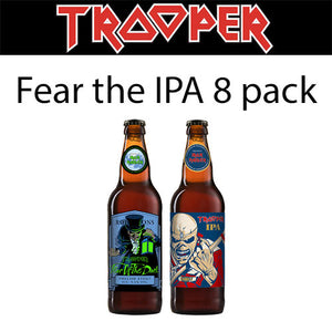 Iron Maiden Trooper Fear the IPA 8 Pack (8x500ml)