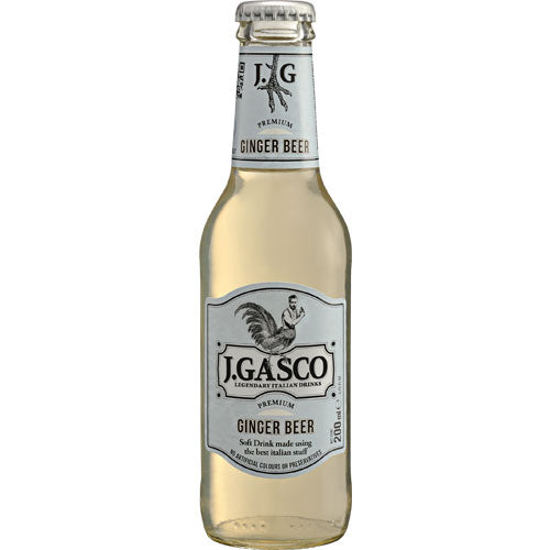 J.Gasco Premium Ginger Beer 24 x200ml