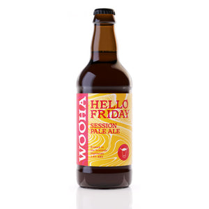 WooHa Hello Friday Session Pale Ale 12 x 500ml